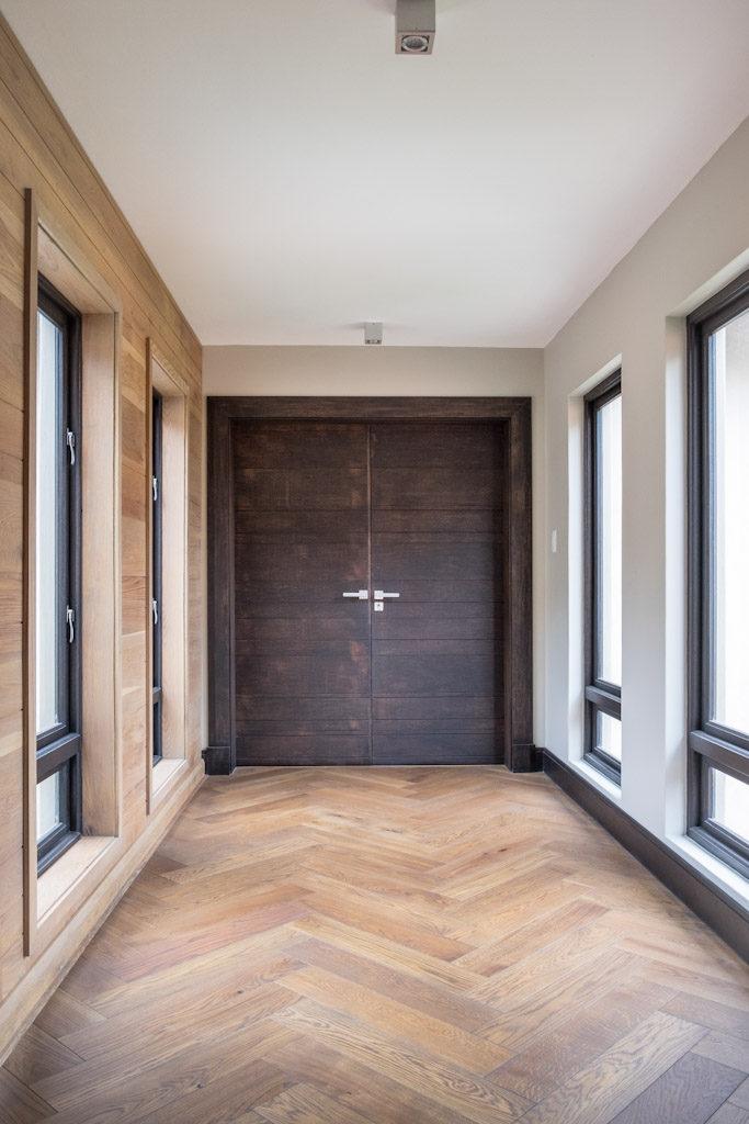 Double Contemporary doors