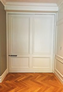 Internal white door gallery
